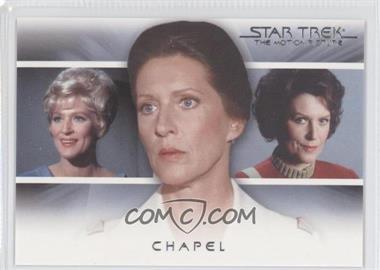 "2010 Rittenhouse The ""Quotable"" Star Trek Movies - Bridge Crew: Transitions #T8 - Chapel"
