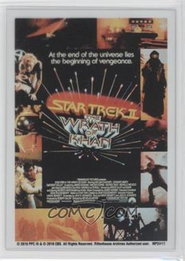 "2010 Rittenhouse The ""Quotable"" Star Trek Movies - Movie Poster Cels #MP2 - Star Trek II: The Wrath of Khan"