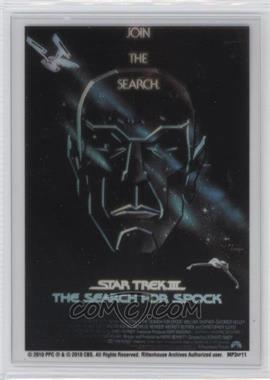 "2010 Rittenhouse The ""Quotable"" Star Trek Movies - Movie Poster Cels #MP3 - Star Trek III: The Search For Spock"