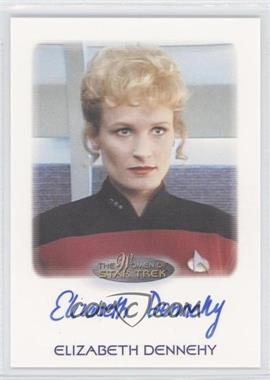2010 Rittenhouse The Women of Star Trek - Autographs #ELDE - Elizabeth Dennehy as Lt. Commander Shelby