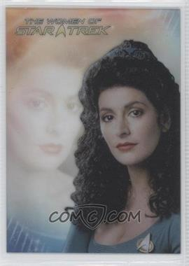 2010 Rittenhouse The Women of Star Trek - Leading Ladies #LL2 - Marina Sirtis as Counselor Troi