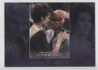 2010 Rittenhouse The Women of Star Trek - Romantic Relationships #RR5 - Max Grodenchik, Chase Masterson