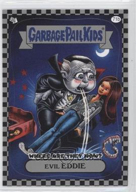 2010 Topps Garbage Pail Kids Flashback - [???] #71b - Evil Eddie