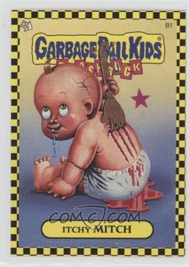 2010 Topps Garbage Pail Kids Flashback - [???] #B1 - Itchy Mitch