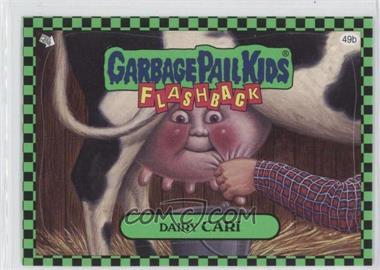 2010 Topps Garbage Pail Kids Flashback - [Base] - Green #49b - Dairy Cari