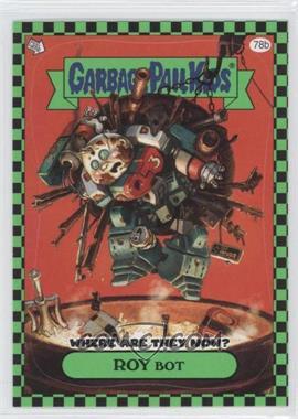 2010 Topps Garbage Pail Kids Flashback - [Base] - Green #78b - Valarie Vomit