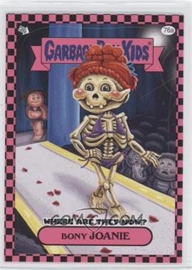 2010 Topps Garbage Pail Kids Flashback - [Base] - Pink #76a - Bony Joanie
