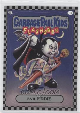 2010 Topps Garbage Pail Kids Flashback - [Base] - Silver #1b - Evil Eddie