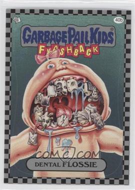 2010 Topps Garbage Pail Kids Flashback - [Base] - Silver #40b - Dental Flossie
