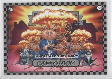 2010 Topps Garbage Pail Kids Flashback - [Base] - Silver #72b - Blasted Billy