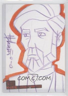 2010 Topps Star Wars: Clone Wars Rise of the Bounty Hunters - Sketch Cards #HSOK - Howard Shum (Obi-Wan Kenobi)