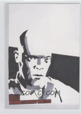 2010 Topps Star Wars: Clone Wars Rise of the Bounty Hunters - Sketch Cards #UAMW - Unknown Artist (Mace Windu)