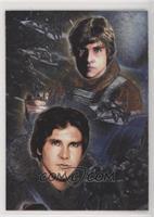 Han Solo, Luke Skywalker