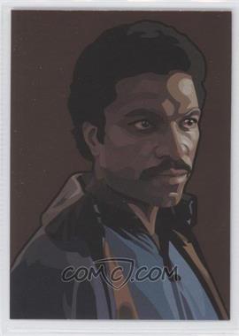 2010 Topps Star Wars Galaxy Series 5 - Foil Art - Bronze #7 - Lando Calrissian