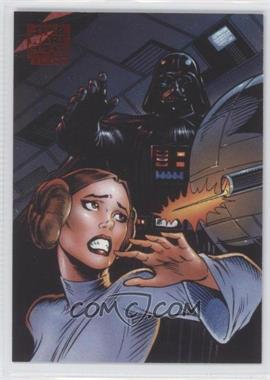 2010 Topps Star Wars Galaxy Series 5 - Lost Galaxy #5 - Behind Death Star Doors