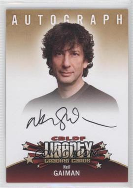 2011 Cryptozoic CBLDF Liberty - Autographs #NEGA - Neil Gaiman