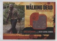 Greg Nicotero as the Deer Eating Zombie