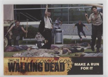 2011 Cryptozoic The Walking Dead Season 1 - [Base] #80 - Make A Run For It