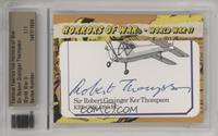 WWII - Robert Thompson [CutSignature] #/1
