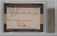 Rudy Vallee [Uncirculated] #12/15