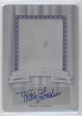 2011 Leaf Pop Century - Award Winners - Printing Plate Black #AW-TL1 - Traci Lords /1