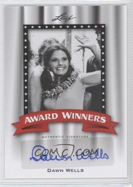 2011 Leaf Pop Century - Award Winners #AW-DW1 - Dawn Wells
