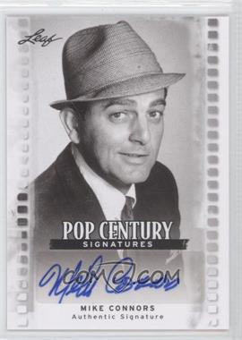 2011 Leaf Pop Century - [Base] #BA-MC1 - Mike Connors