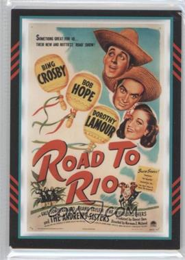 2011 Panini Americana - Movie Posters Materials Combo #8 - Bob Hope, Dorothy Lamour /499