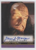 David Orange as Sleepy Klingon in