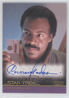 2011 Rittenhouse Star Trek Classic Movies Heroes & Villains Premium Packs - Autographs #A129 - Conroy Gedeon
