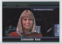The Undiscovered Country - Commander Rand #/550
