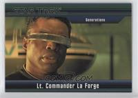 Generations - Lt. Commander La Forge #/550