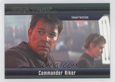 2011 Rittenhouse Star Trek Classic Movies Heroes & Villains Premium Packs - [Base] #49 - Insurrection - Commander Riker /550