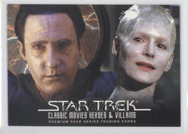 2011 Rittenhouse Star Trek Classic Movies Heroes & Villains Premium Packs - Promos #P4 - Lt. Commander Data, Borg Queen