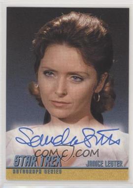 2011 Rittenhouse Star Trek: The Remastered Original Series - Single Autograph #A203 - Sandra Smith as Janice Lester