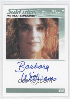 2011 Rittenhouse The Complete Star Trek: The Next Generation Series 1 - Autographs #BAWI - Barbara Williams
