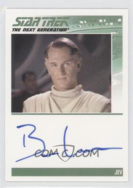 2011 Rittenhouse The Complete Star Trek: The Next Generation Series 1 - Autographs #BELE - Ben Lemon