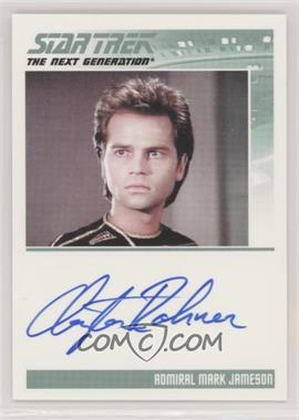 2011 Rittenhouse The Complete Star Trek: The Next Generation Series 1 - Autographs #CLRO - Clayton Rohner as Admiral Mark Jameson