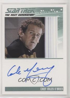 2011 Rittenhouse The Complete Star Trek: The Next Generation Series 1 - Autographs #COME - Colm Meaney