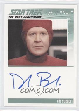 2011 Rittenhouse The Complete Star Trek: The Next Generation Series 1 - Autographs #DAME - Daniel Benzali