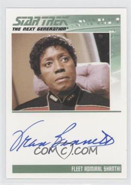 2011 Rittenhouse The Complete Star Trek: The Next Generation Series 1 - Autographs #FRBE - Fran Bennett