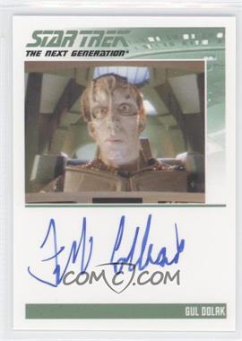 2011 Rittenhouse The Complete Star Trek: The Next Generation Series 1 - Autographs #FRCO - Frank Collison