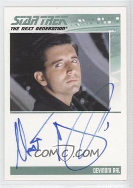 2011 Rittenhouse The Complete Star Trek: The Next Generation Series 1 - Autographs #MAMC - Matt McCoy