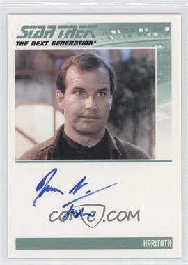 2011 Rittenhouse The Complete Star Trek: The Next Generation Series 1 - Autographs #MATA - Mark L. Taylor