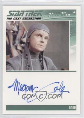2011 Rittenhouse The Complete Star Trek: The Next Generation Series 1 - Autographs #MECO - Megan Cole as Noor