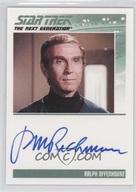 2011 Rittenhouse The Complete Star Trek: The Next Generation Series 1 - Autographs #PERI - Peter Mark Richman