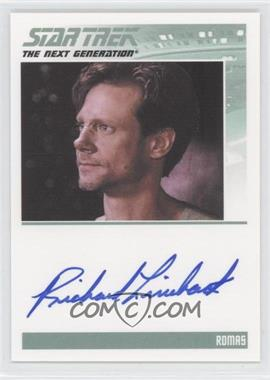 2011 Rittenhouse The Complete Star Trek: The Next Generation Series 1 - Autographs #RILI - Richard Lineback