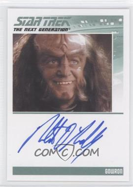 2011 Rittenhouse The Complete Star Trek: The Next Generation Series 1 - Autographs #ROOR - Robert O'Reilly