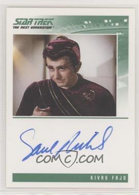 2011 Rittenhouse The Complete Star Trek: The Next Generation Series 1 - Autographs #SARU - Saul Rubinek as Kivas Fajo
