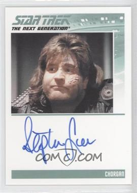 2011 Rittenhouse The Complete Star Trek: The Next Generation Series 1 - Autographs #STLE - Stephen Lee